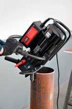 Снятие фаски с труб ∅150-300 мм (опционально)